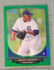 2013 Bowman Chrome Mini GREEN REFRACTOR > BRUCE RONDON (RC) Serial # 33/75 MINT!