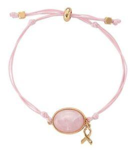 Studio 1886 Rose Quartz Cord Bracelet