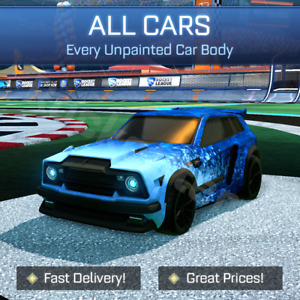 Rocket League Items - All Car Bodies - Fennec, Dominus etc - PC / PS4 / PS5