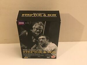 Steptoe and Son: Complete Series 1-8 (Box Set) [DVD] Discs Are In VGC Free P&P