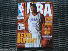 RIVISTA UFFICIALE NBA=N°55 5/2011=KEVIN DURANT=ANDREA BARGNANI=CARLOS BOOZER