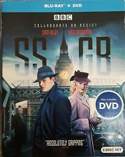 """SS-GB"" BBC Blu-ray + DVD, 3-disc set *Sam Riley, James Cosmo, Rainer Bock*"