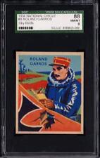 1934 National Chicle Sky Birds #9 Roland Garros SGC 88 Nm/Mt 8
