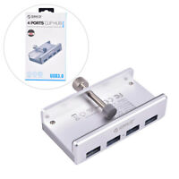ORICO Aluminum 4 Ports USB 3.0 Clip HUB for Desktop Laptop Clip Range 10-32m Td