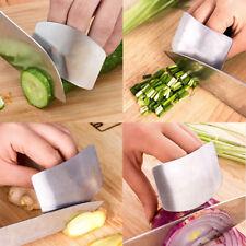 Edelstahl Schneidehilfe Schnittschutz Fingerschutz Obsts Gemüse Schneiden Ringe