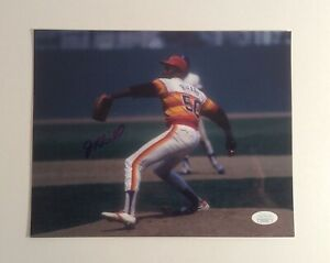 J.R. Richard Houston Astros Autographed Photographs 8x10 JSA CC57946