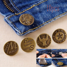 Button Metal Button Jean Buttons for Jeans Mixed 10 PCS Button Clothing Accessor