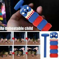 Immortal Daruma Small Wooden Man Stubborn Unbreakable Magic Toy Kids Xmas Gift