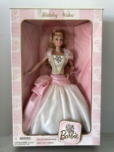 1998 Barbie Birthday Wishes Collector Edition 1st In Series 21128 NRFB