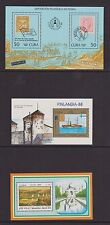 Central America - MS 3189, 3345,3407 - u/m - 1986, 1988, 1989 Stamp Exhibitions