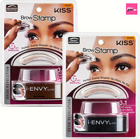 i ENVY BY KISS BROW STAMP POWDER DELICATE/NATURAL SHAPE & EYEBROW MAKE UP