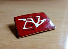 Vintage Enamel on Copper Pin by Robert & Audrey Engstrom signed OOAK Rare