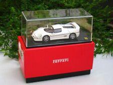 Kyosho 1/43 Diecast Model Car Ferrari F50  Sport Car (05091W) White
