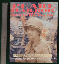 Pearl Harbor & The War In The Pacific. Large Format HC/DJ,Very Well Illustrated!