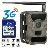 3G MMS Security Trail Cam Hunting Camera WildGuarder WG-890WG Wide Lens +16GB SD