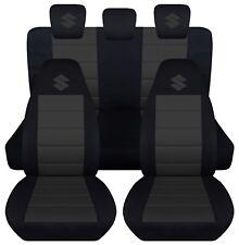 fits 2005-2011 suzuki swift  Sport  CPL set car seat covers black-charcoal