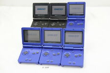 Plz Read Note! Lot 6 Nintendo GameBoy Advance SP Blue System Console GBA #3380