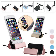1x Desktop Charger Dock Charging Stand Base Fit iPhone 5 6s 7 Android Phones