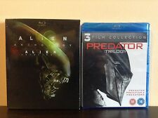 Alien Anthology (6-Disc Set, Canadian) + Predator Trilogy (Blu-ray) *BRAND NEW*