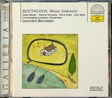 Beethoven: Missa Solemnis - BERNSTEIN Edda Moser/Hanna Schwarz/Rene Kollo CD