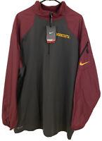 Minnesota Gophers Nike Mens XXL Quarter Zip Dri Fit Jacket Pullover NCAA NWT