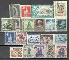 R8977 - POLONIA 1955 - LOTTO TEMATICI DIFFERENTI - VEDI FOTO