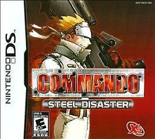Commando: Steel Disaster (Nintendo DS) Lite Dsi xl 2ds 3ds XL