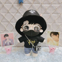 25cm Xiao Zhan 肖战 Cosplay Plush Doll Stuffed Toy With Clothes Shoes Fans Gift
