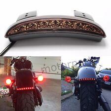 Motorcycle Universal Relocator Tail Rear light Fender For Bobber Chopper Retro