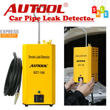 Autool SDT106 Smoke Automotive Diagnostic Leak Detector Car Motorcycle Pipe EVAP