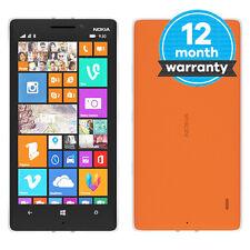 Nokia Lumia 930 - 32GB - Bright Orange (Unlocked) Smartphone Very Good Condition