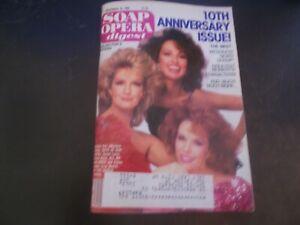 10th Anniversary Issue - Soap Opera Digest Magazine 1985