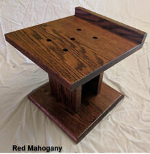 Home Theater Speaker Stands Custom Hand Made SOLID OAK
