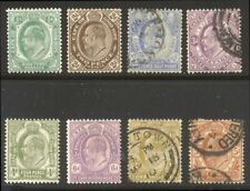 Cape of Good Hope #63-71 Mint / Used - 1902 K E Vii Issue ($100)