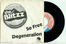 "the BLITZZ - So Free (1978) DUTCH POWERPOP PUNK PS VINYL SINGLE 7"""