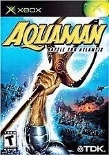 Aquaman (Microsoft Xbox, 2003) New Sealed Game
