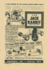 Vintage & Very Rare 1960 Jack Rabbit Go-Kart Ad
