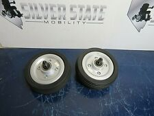 Jazzy Select Elite Pride, 2x6 Pair Caster Wheels power wheelchair # 3728