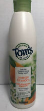 NewTom's of Maine Orange Blossom Moroccan Argan Oil Moisturizing Body Wash 12 oz