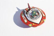 + Blechspielzeug RAUMSCHIFF mit Commander Fliegende Untertasse °° Tin Toy °°