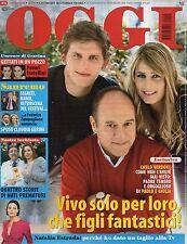 Oggi 2008 10.CARLO VERDONE,PIPPO BAUDO,NATALIA ESTRADA,JOAN PUNYET