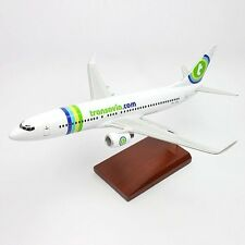 Transavia Airlines Boeing 737-800 Desk Top Display Jet Model 1/100 MC Airplane