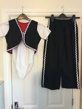 Dance Wear - Girl Spanish Dance Outfit - Approx Age 10, Size 3