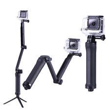 3 way Selfie Handheld Stick Monopod Folding Holder for GoPro hero 4 3+ 3 2