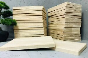 10 x Oak Chopping Boards 300 x 200 x 20mm Untreated Wood Ideal for Engraving