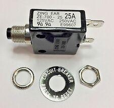 Zing Ear ZE-700-25A Thermal Circuit Breaker
