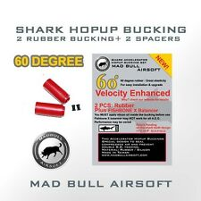 MADBULL 60 Degree Shark Hopup Bucking + Fishbone Spacer (2pcs) Airsoft Hop up