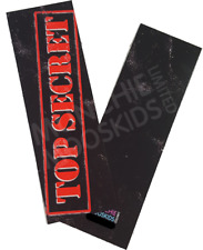 Pack of 12 - Top Secret Bookmarks - Detective Spy Supplies Party Bag Fillers