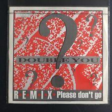 """Double You? – Please Don't Go (Remix) (Vinyl 12"""", Maxi 33 Tours)"""