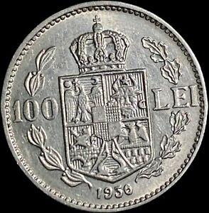 1936 Romania 100 Lei - Carol II